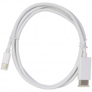 Mini DisplayPort / Thunderbolt to DisplayPort Cable With Audio Support - 6ft