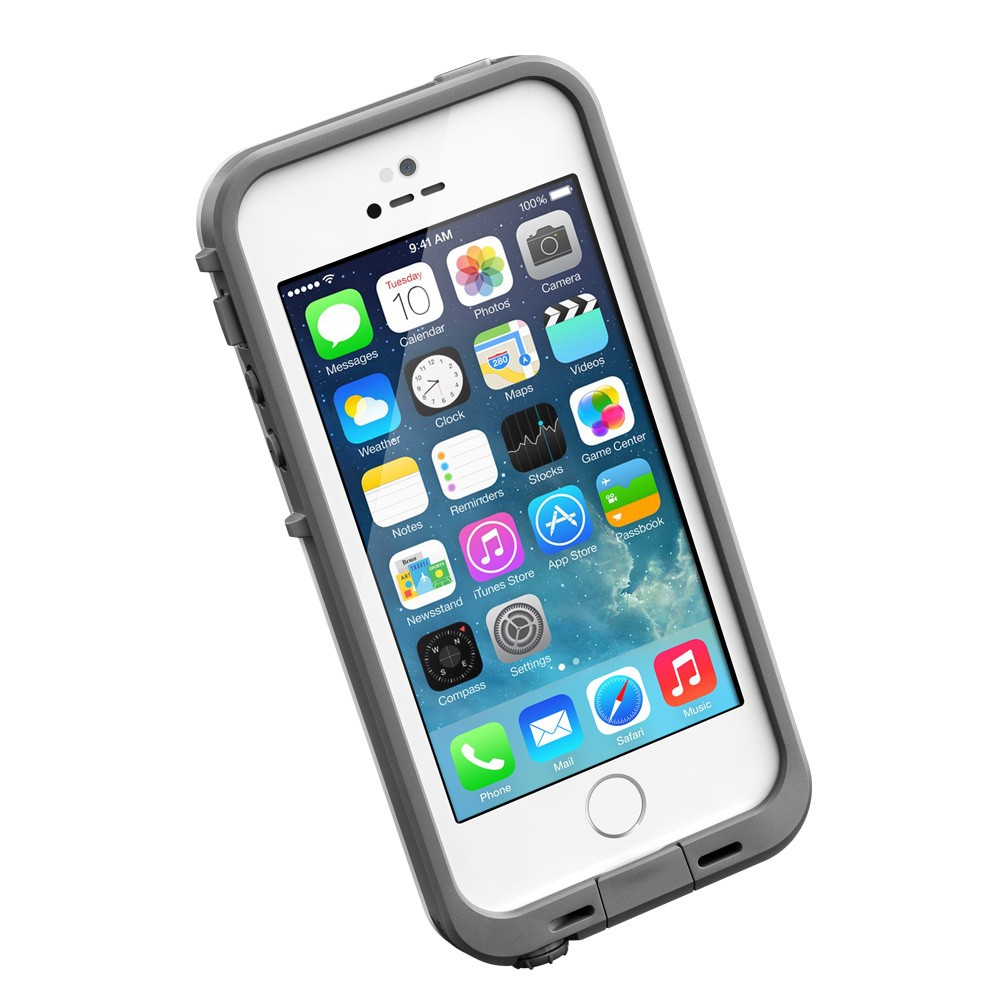 LifeProof Waterproof fre Case for iPhone 5 5s - White d335d4459