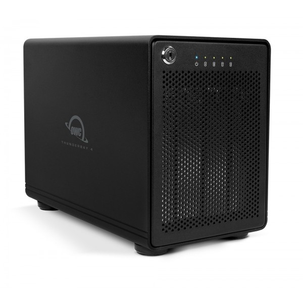 48.0TB OWC ThunderBay 4, four-drive HDD with dual Thunderbolt 2 ports, RAID-ready JBOD Solution, OWCTB2IVT48.0S
