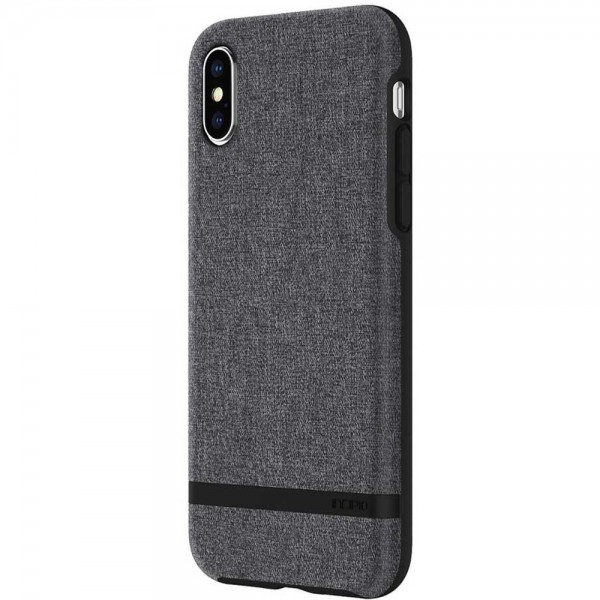 Incipio Esquire Series Carnaby Case for iPhone X - Grey, IPH-1631-GRY