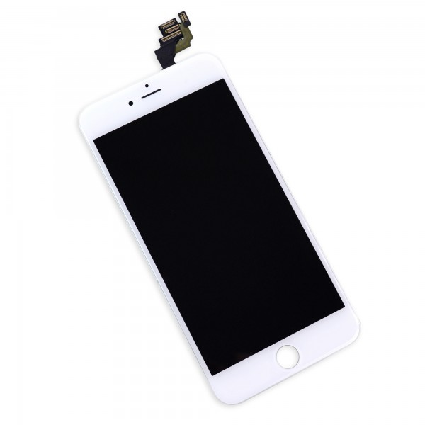 ifFixit iPhone 6 Plus LCD Screen and Digitizer Full Assembly, New, Part Only - White, IF269-000-2