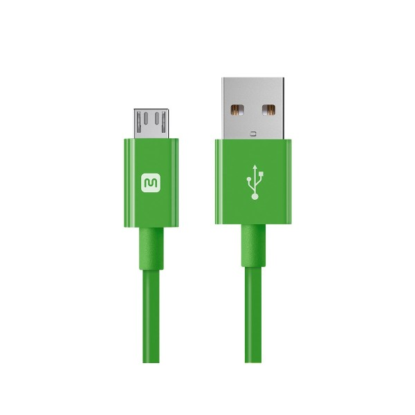 Select Series USB A to Micro B Charge & Sync Cable 15ft Green, 13942