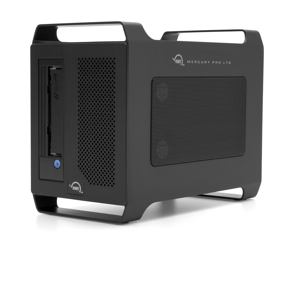 OWC Mercury Pro LTO LTO-8 Thunderbolt Tape Storage/Archiving Solution with 1.0TB SSD Staging Drive, OWCTBLTMP80S01