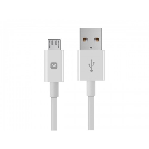Select Series USB A to Micro B Charge & Sync Cable 6-inch White