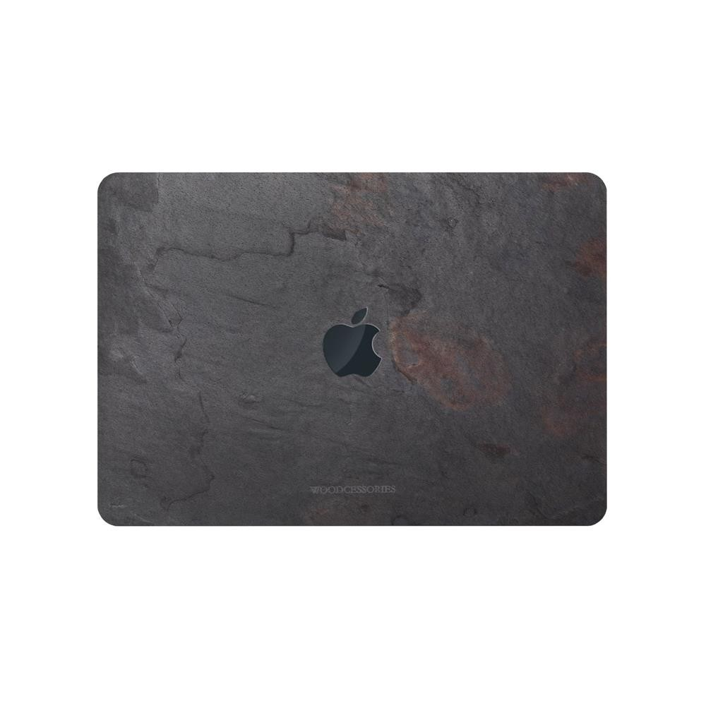 """**DISCONTINUED** Woodcessories EcoSkin Stone Case for MacBook 15"""" - Volcano Black, sto049"""