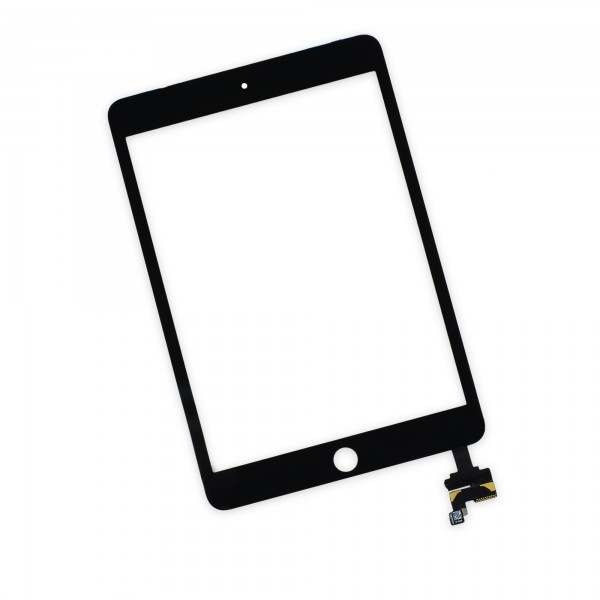 iPad mini 3 Front Glass/Digitizer Touch Panel, Part Only, New - Black, IF277-001-1