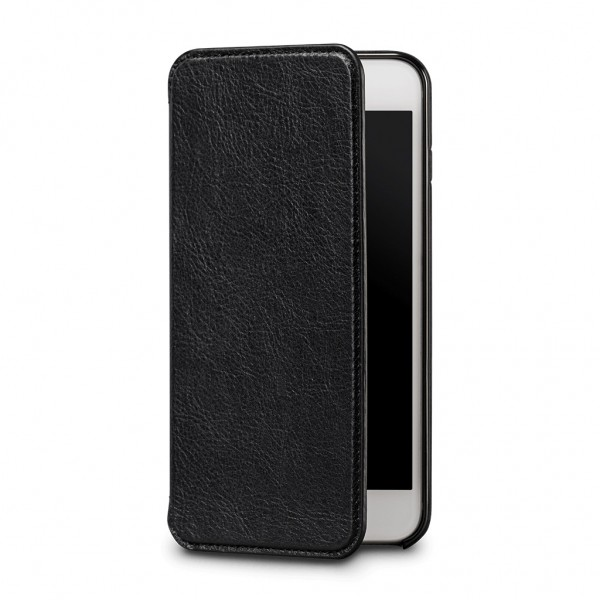 Sena Ultra Thin Wallet Book for iPhone 7 Plus/8 Plus - Black, SFD275ALUS