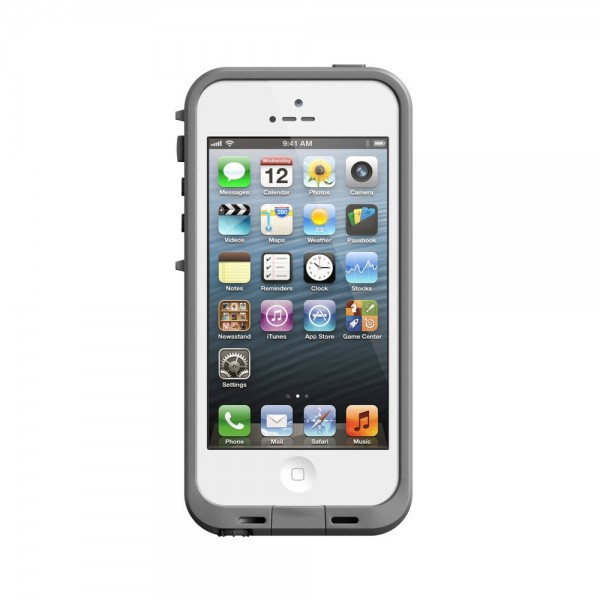LifeProof Waterproof fre Case for iPhone 5 : White, *LIF020