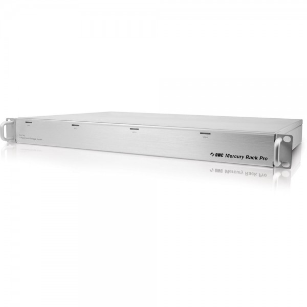 16.0TB (4 x 4.0TB) OWC Mercury Rack Pro 4 Bay 1U Rackmount RAID Solution - eSATA/FW800/FW400/USB 3.0 - Enterprise Class, OWMRPM3F8Q16.0E