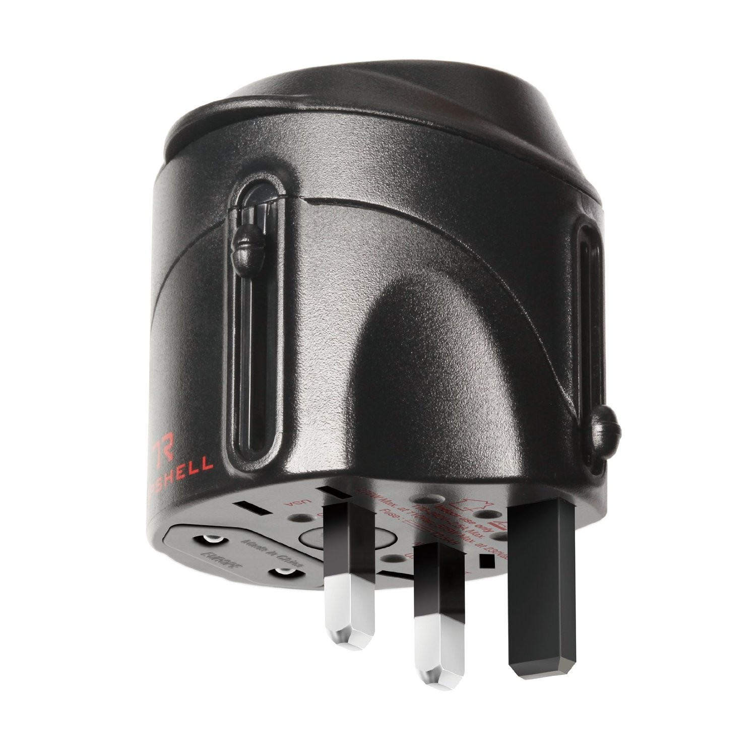 Tripshell International Travel Plug Adapter With Surge Protection, TRIPSHELL