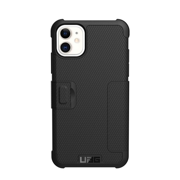 UAG Metropolis Case for iPhone 11 Feather-Light Rugged Military Drop Tested - Black, 111716114040