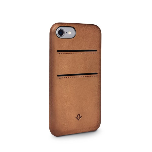 Twelve South Relaxed Leather w/ Pockets for iPhone 8/7/6S - Brown, 12-1644