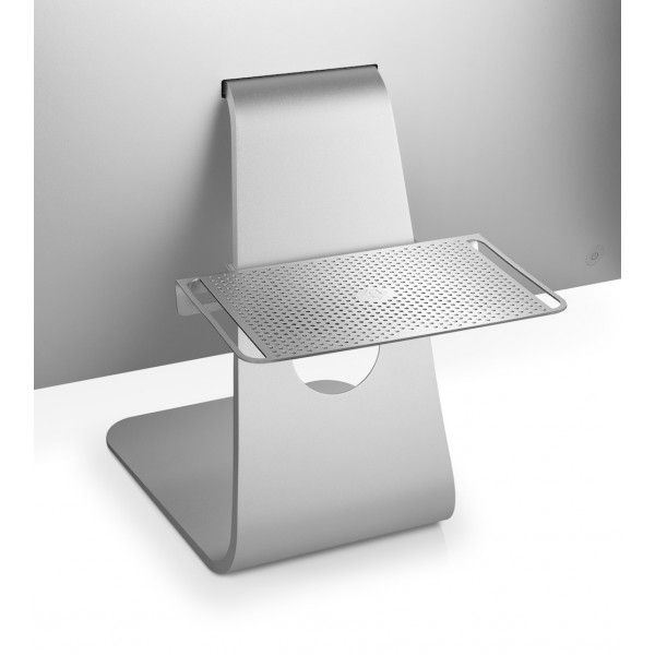Twelve South BackPack 3 - Adjustable shelf for iMac or Cinema Display - Silver, 12-1302
