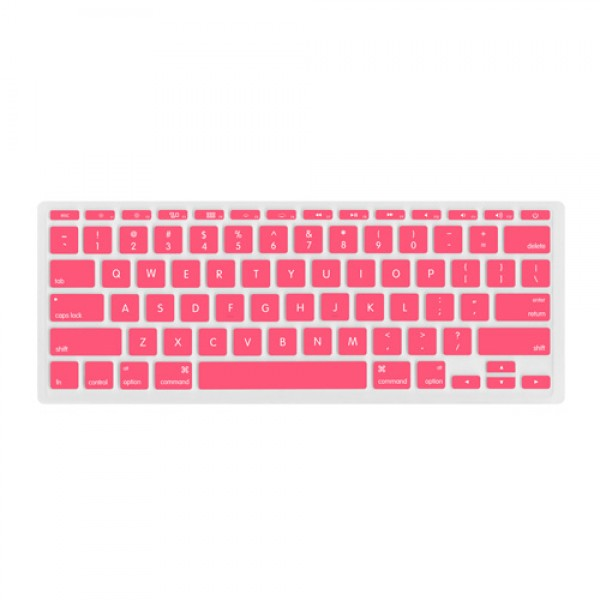 "NewerTech NuGuard Keyboard Cover for all 2011-2016 MacBook Air 11"" models - Rose, NWTNUGKBA1211RO"