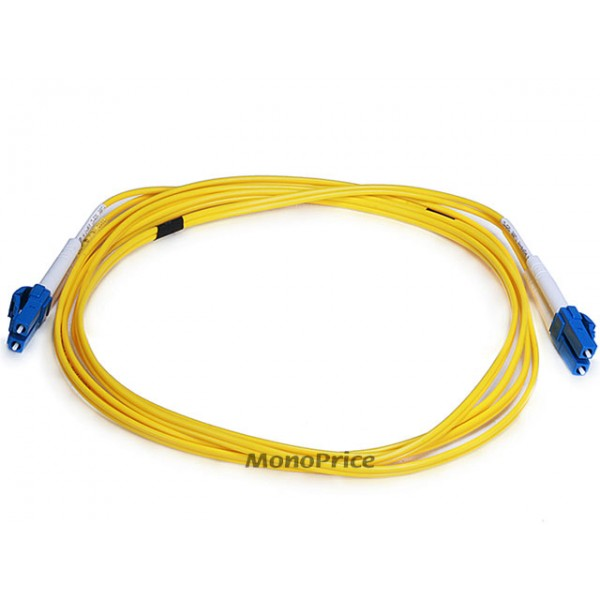 Fiber Optic Cable, LC/LC, Single Mode, Duplex - 2 meter (9/125 Type) - Yellow, FO-CAB-6201
