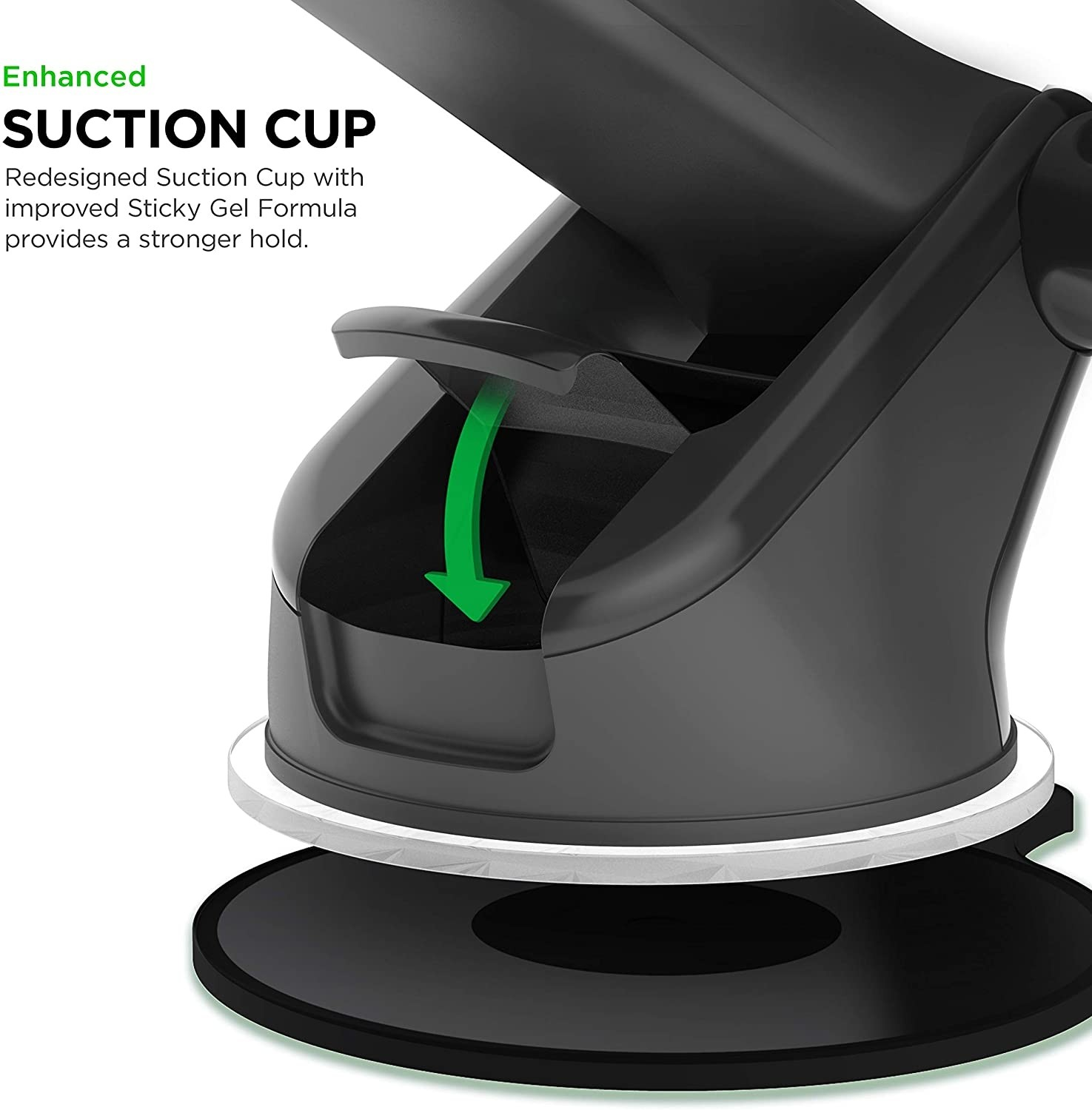 iOttie Easy One Touch 5 Car & Desk Mount Phone Holder - Compatible with all iPhone Models, HLCRIO171AM