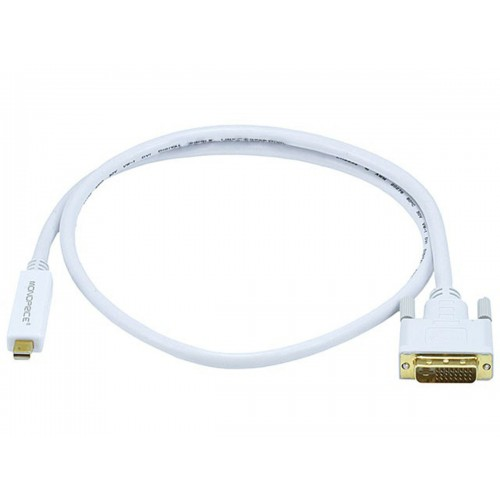 Mini DisplayPort / Thunderbolt to DVI Cable - 0.9m