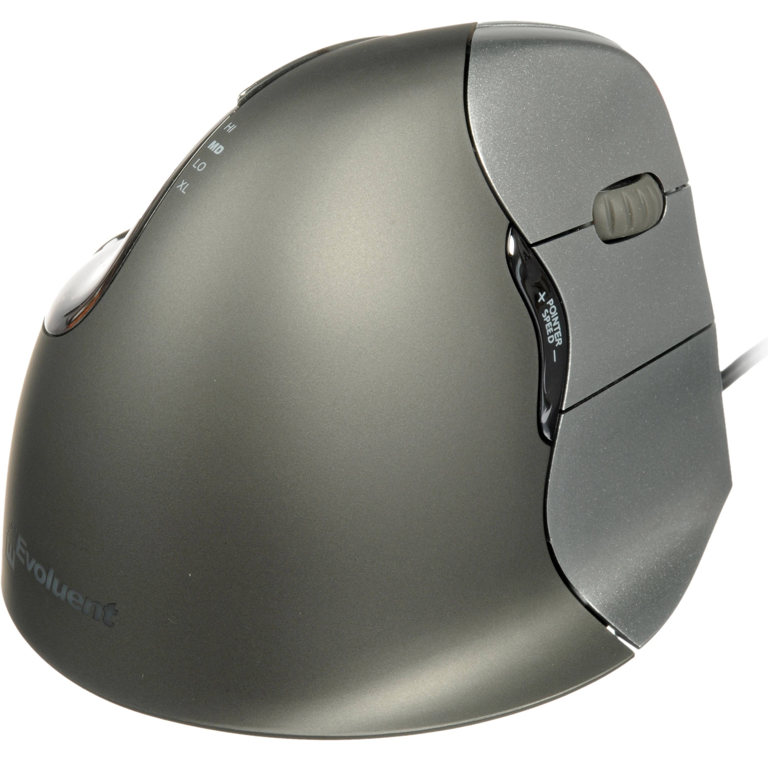 Evoluent VerticalMouse 4, Wired Right-Hand, EVVM4R