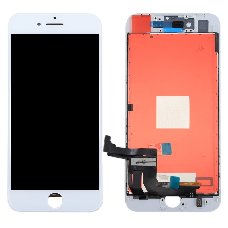 iPhone 8 Plus Complete LCD w/ Digitizer, Brand New - White, I8B-001W
