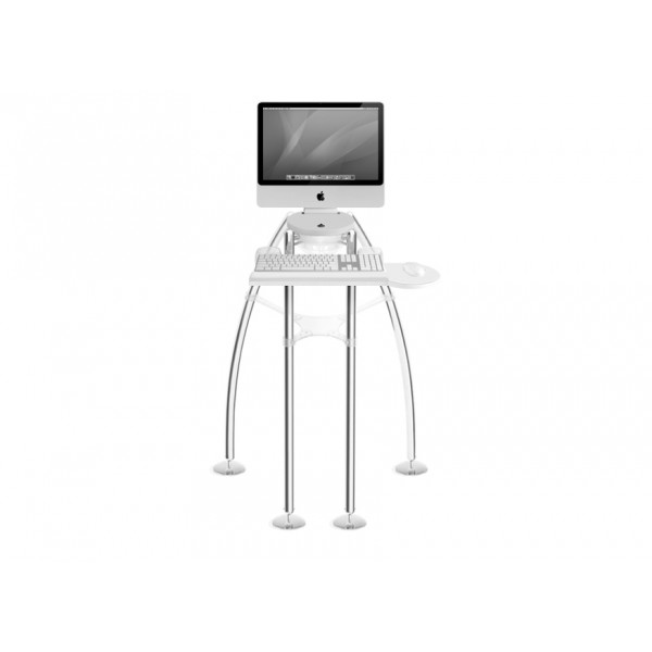 "Rain Design iGo stand for your flat panel iMac 24"" or Cinema Display 24"" - Standing model, RAI12004"