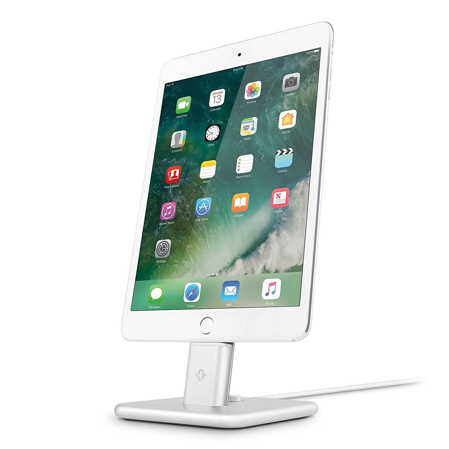 Twelve South HiRise 2 for iPhone & iPad - Silver, 12-1624
