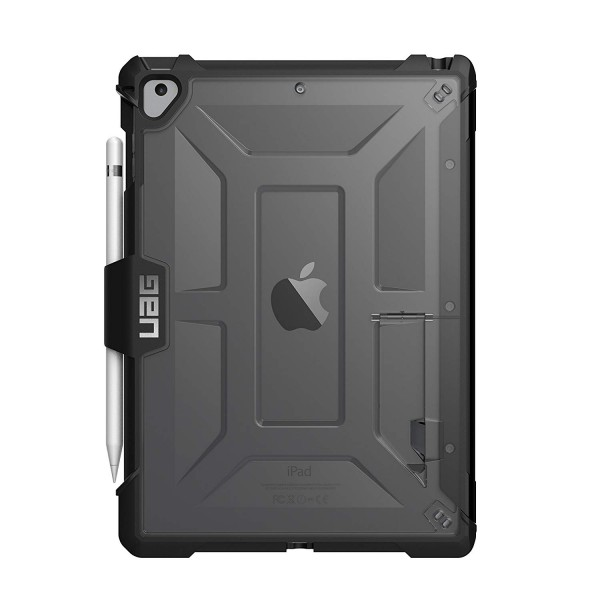 **OPEN BOX** Urban Armor Gear iPad 9.7 / iPad Pro 9.7 / iPad Air / iPad Air 2 Plasma Feather-Light Rugged Military Drop Tested iPad Case - Ice/Black, OB-IPD17-L-IC