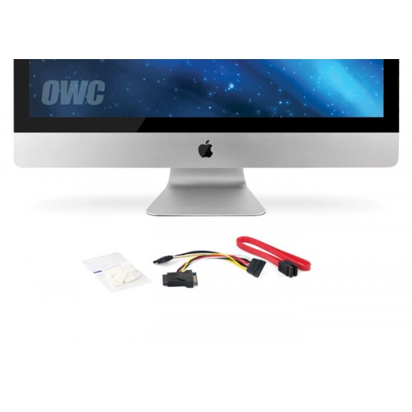 "OWC DIY Kit for all Apple 27"" iMac 2010 Models for installing an internal SSD - No Tools, OWCDIDIM27SSD10"