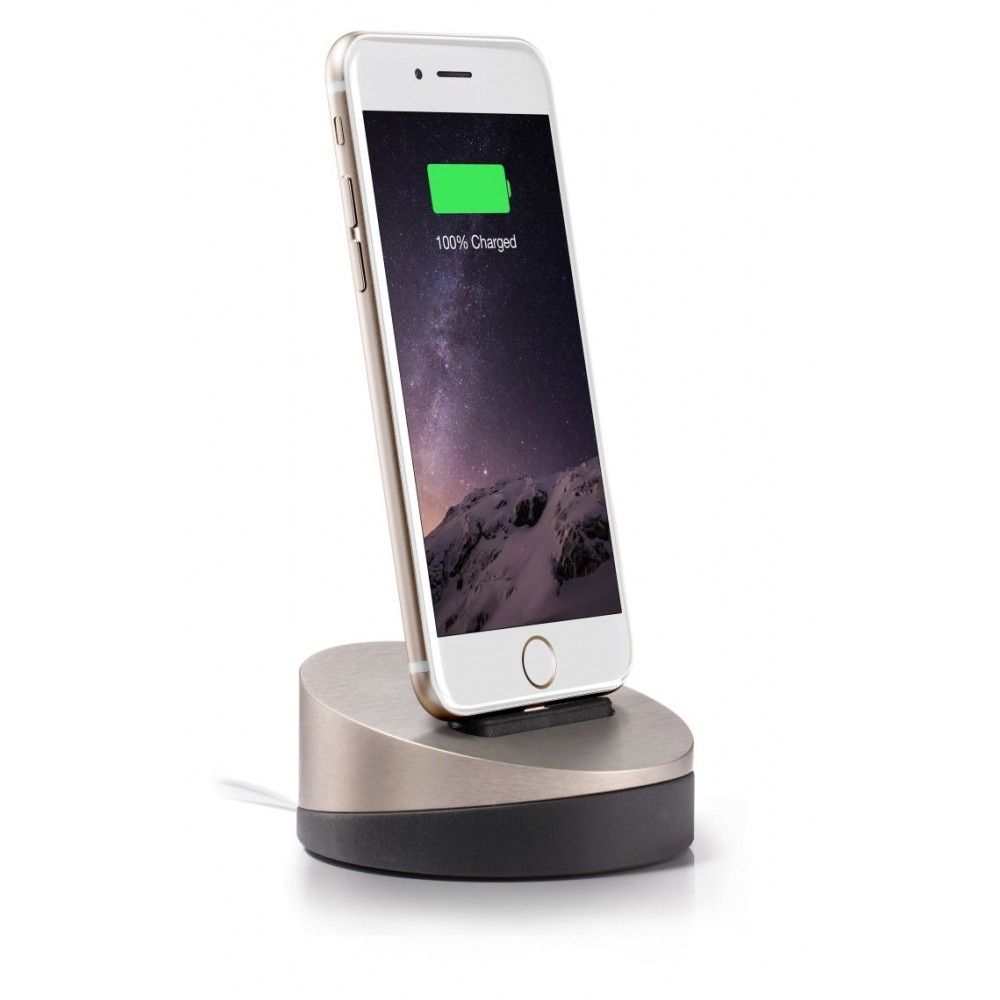 Lead Trend  Z-Dock for iPhone - Titanium, ZD-0102