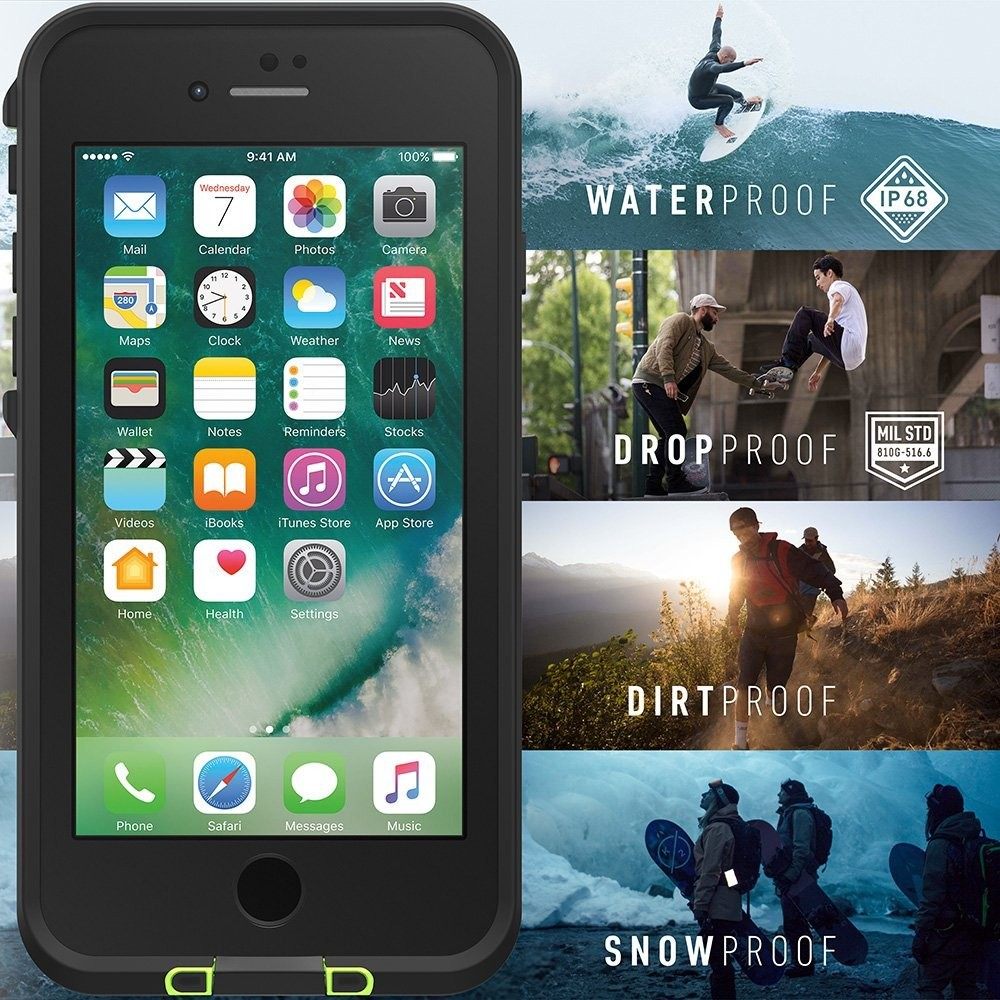 LifeProof frē Case for iPhone 7 Plus/8 Plus - Drop In, 77-56982