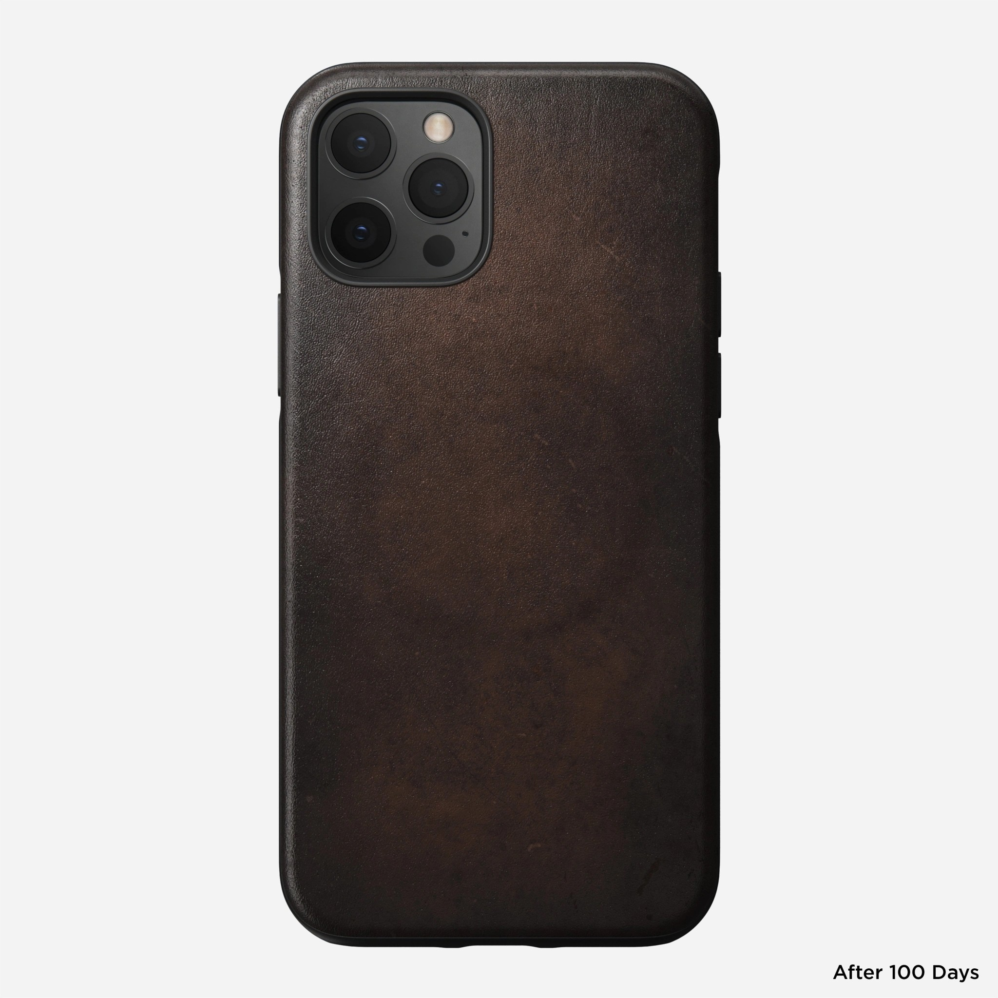 Nomad - MagSafe Leather Case - iPhone 12/12 Pro - Rustic Brown, NM01969785