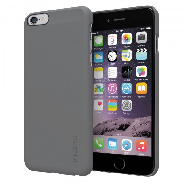 Incipio feather Case for Apple iPhone 6 Plus (Gray), INIPH1193GRY