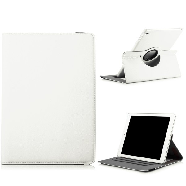 360 Rotating Folio Case with Card Slot for iPad Air 2 - White, IPD6-360-66150