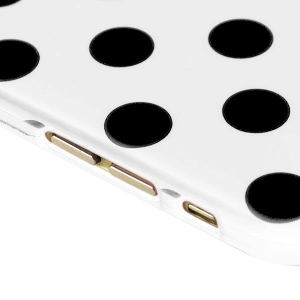 """Dot Pattern Case for iPhone 6 4.7"""" - White, DOT-IPH6-64642"""
