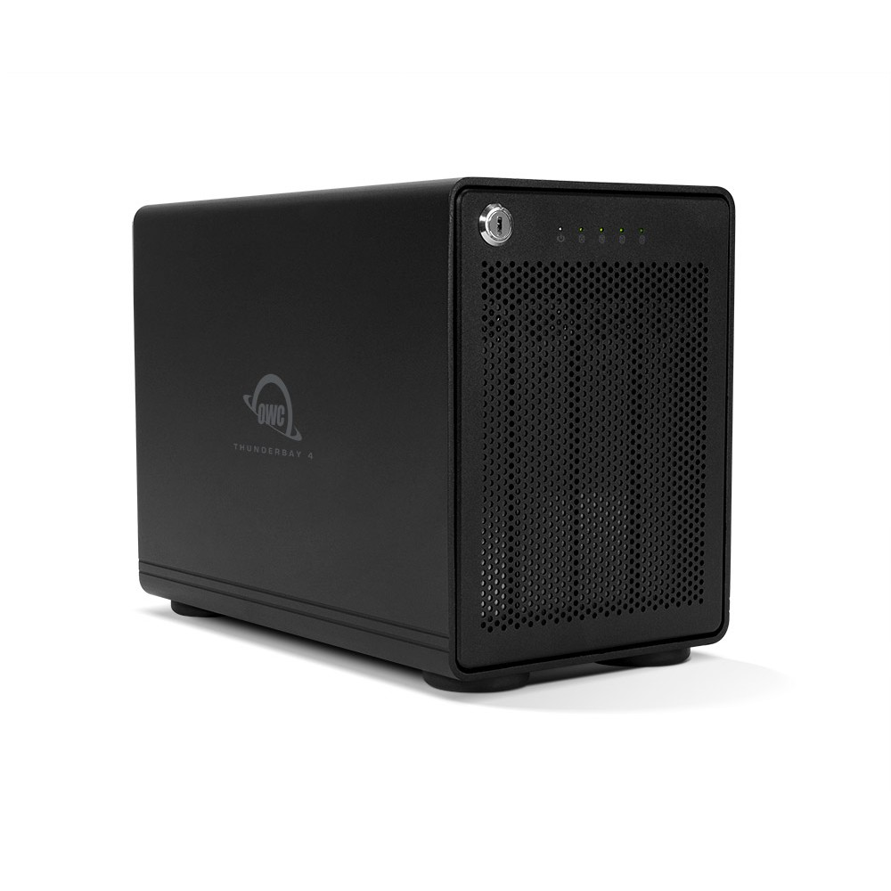8TB OWC ThunderBay 4 RAID Ready (JBOD) 4-Drive HDD Storage Solution with Dual Thunderbolt 3 Ports, OWCTB3IVT08.0S