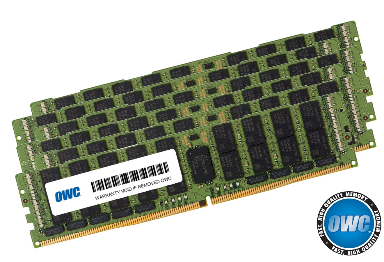 192.0GB (6 x 32GB) PC21300 DDR4 ECC 2666MHz 288-pin RDIMM Memory Upgrade Kit, OWC2666R3M192