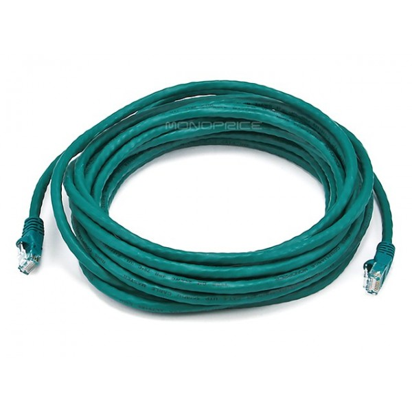 6m 24AWG Cat6 550MHz UTP Ethernet Bare Copper Network Cable - Green, ETH-5011
