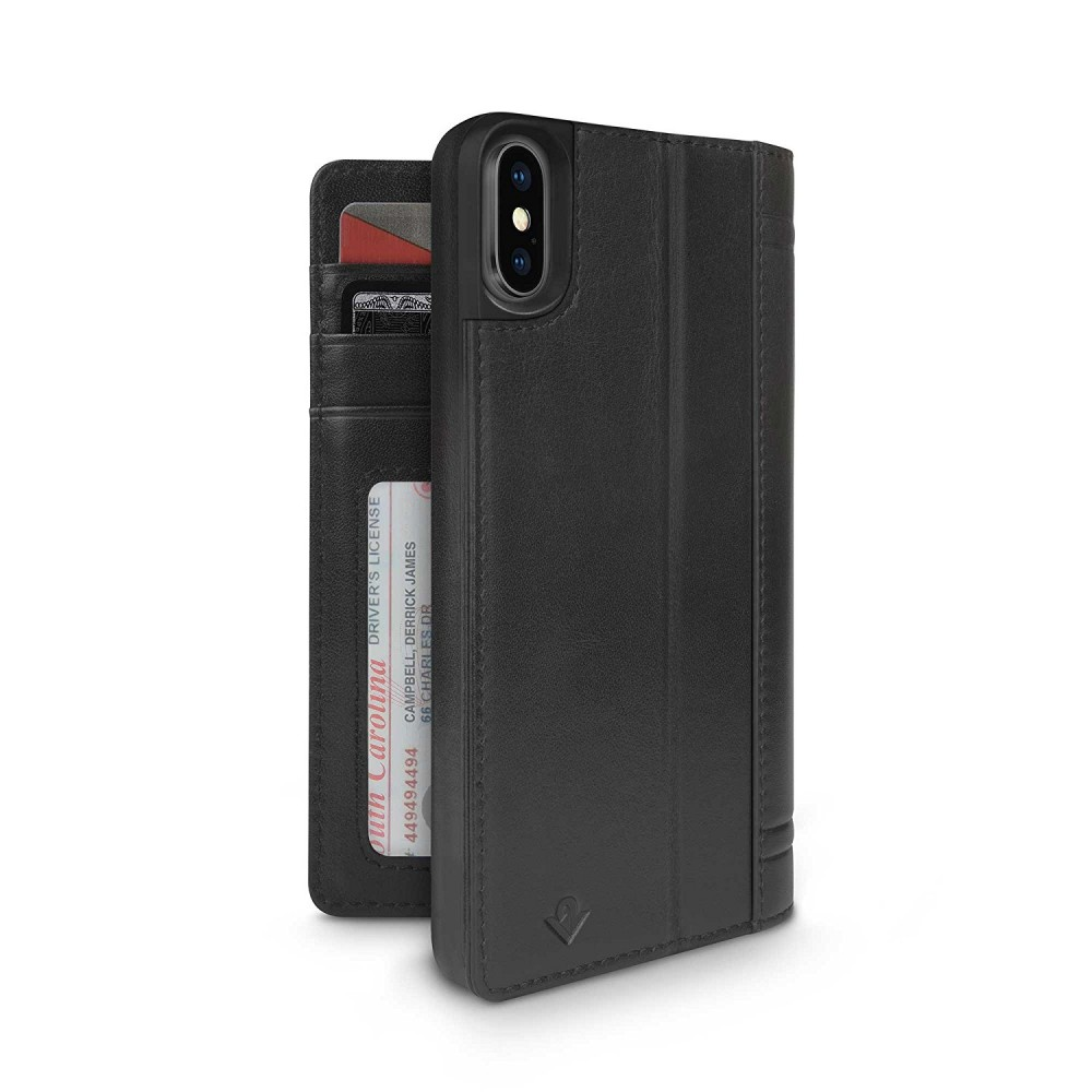 Twelve South Journal for iPhone Xs Max - Black, 12-1818