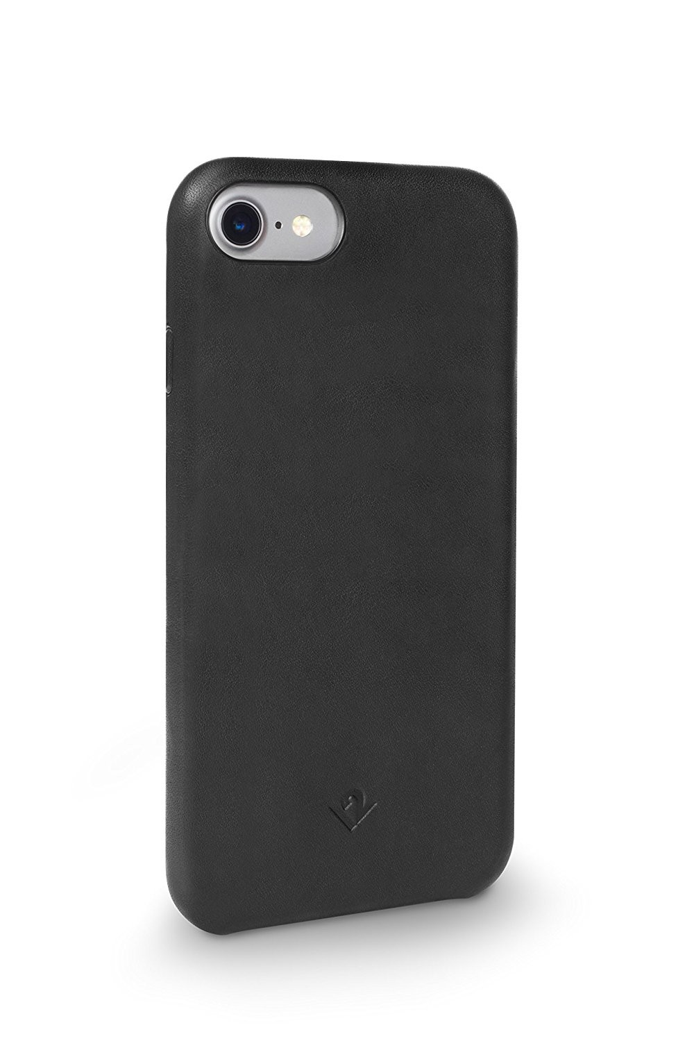 Twelve South Relaxed Leather Case for iPhone 8/7/6S - Black, 12-1638