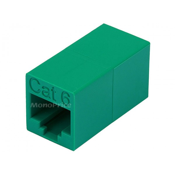 Cat6 Crossover Inline Coupler - Green, COUPL-5089