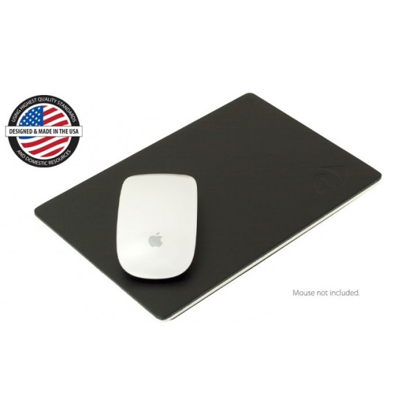 "NewerTech NuPad Executive 6"" x 9"" Leather & Aluminum mouse pad., NWTNUPDEX"