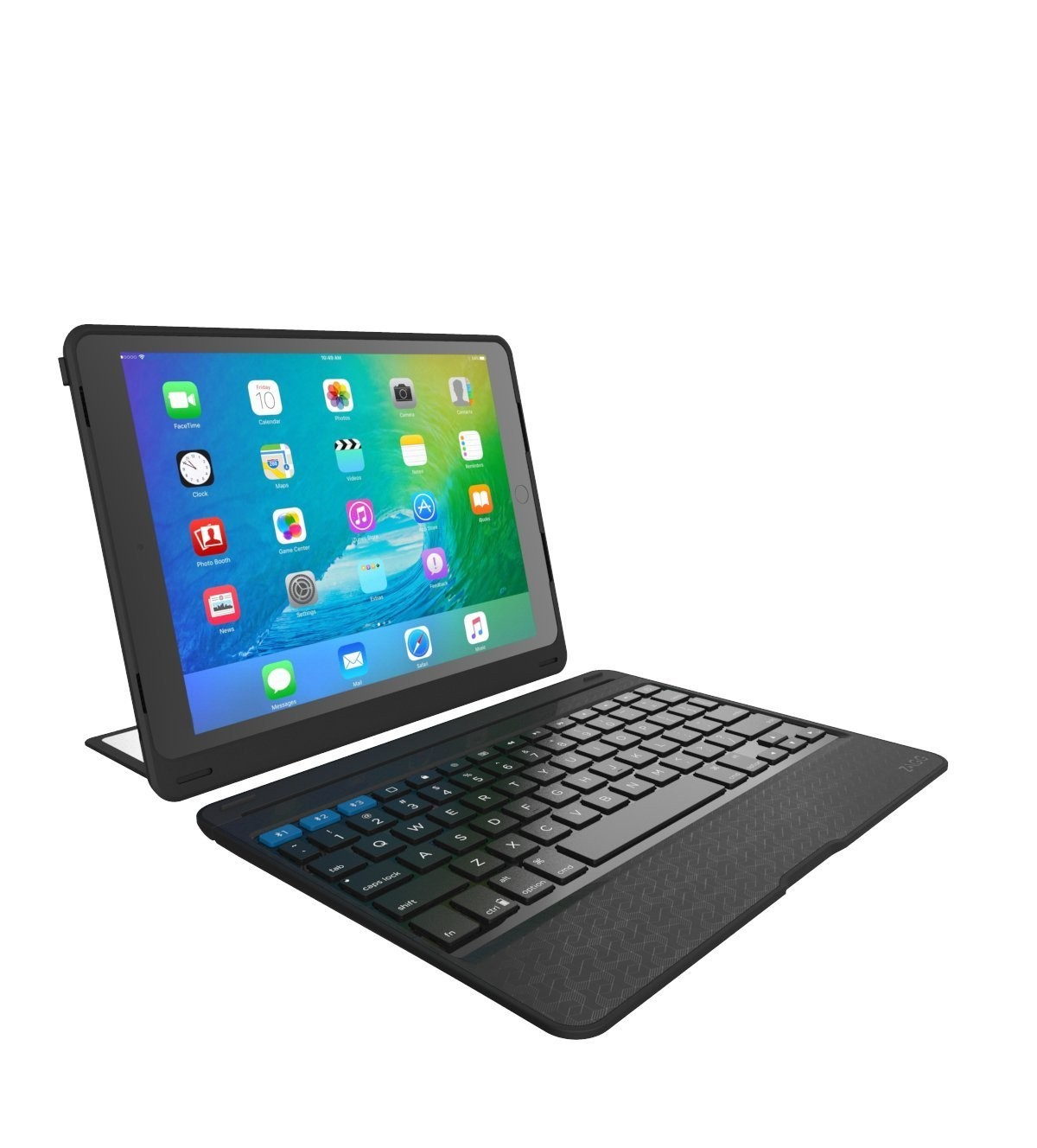 Zagg Rugged Book Pro For The 9 7 Ipad Pro Black