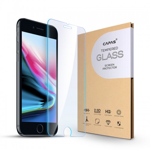 Capas 2pcs Tempered Glass, Screen Protector For iPhone 7 Plus