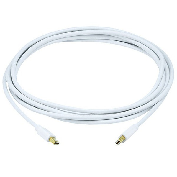 Mini DisplayPort / Thunderbolt Male to Mini DisplayPort Male 32AWG Cable (Gold Plated Connectors) - 3m, Q-MINDP-MINDP-10FT-5992