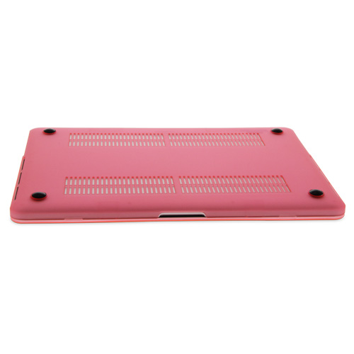 """NewerTech NuGuard Snap-On Laptop Cover for 13"""" MacBook Air (2010-2017) - Pink, NWT-MBA-13-PK"""