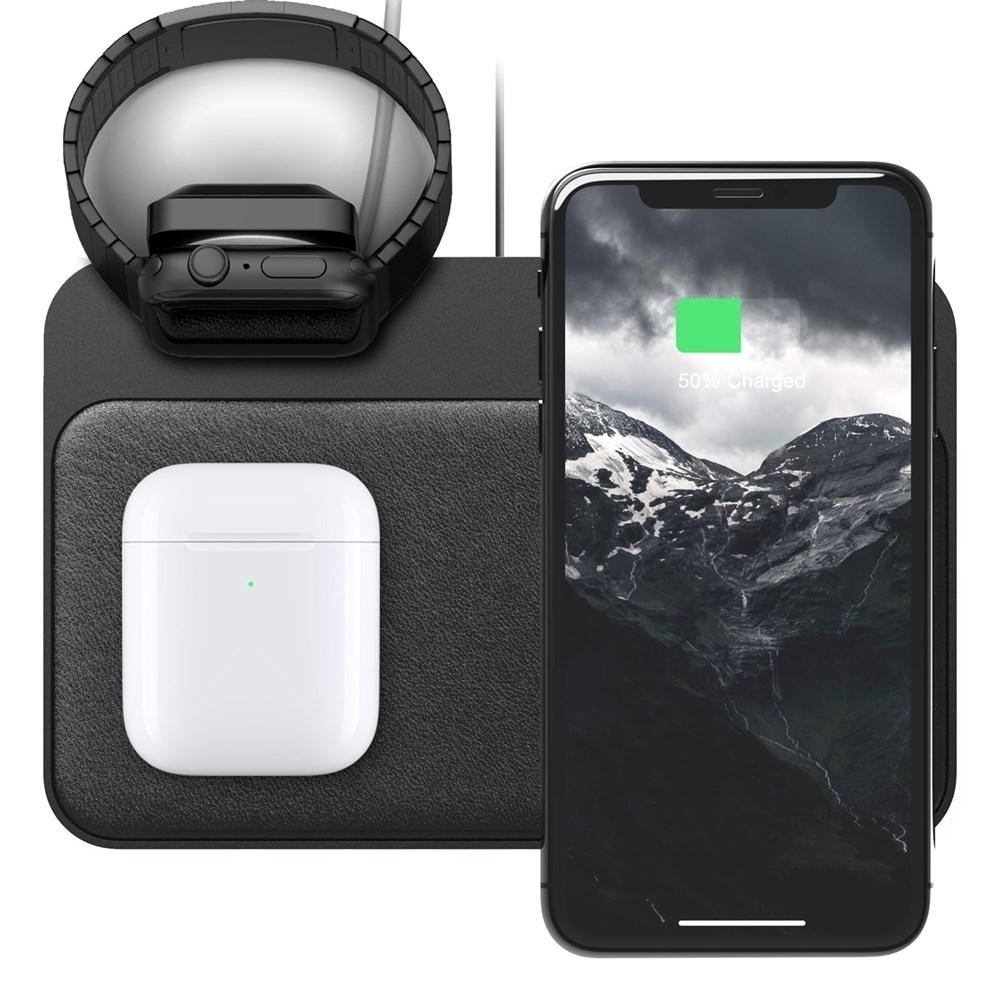 Nomad Base Station Charger with Apple Watch Stand - v2, NM30045AA0