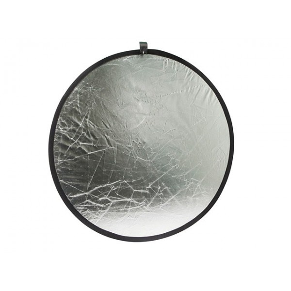 31.5-inch Collapsible Gold/ Silver Light Reflector Disc, REF-9898
