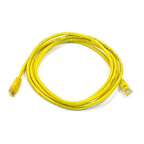 2.1m 24AWG Cat6 550MHz UTP Ethernet Bare Copper Network Cable - Yellow, ETH-2305