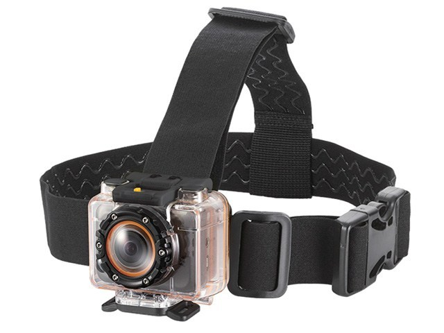 Vented Head Mount For MHD Sport Wifi Action Camera, MHD-10635