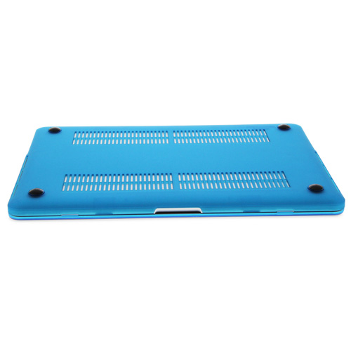 NewerTech NuGuard Snap-On Laptop Cover for MacBook Air 11-Inch Models -  Light Blue, NWT-MBA-11-LIBU