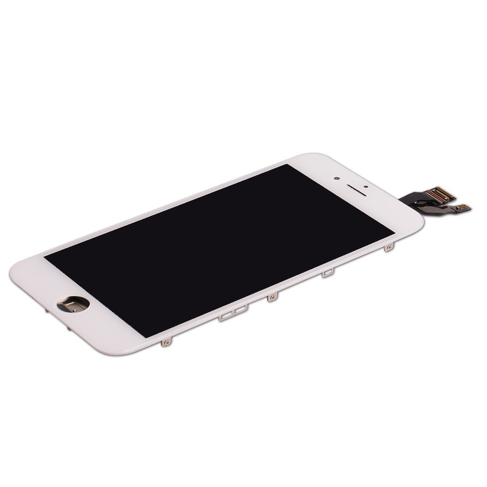 iPhone 6 Complete LCD with digitizer - White - High Quality Third Party Part, I6A-001-W